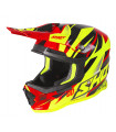 FURIOUS KID VENTURY BLACK RED NEON YELLOW GLOSSY