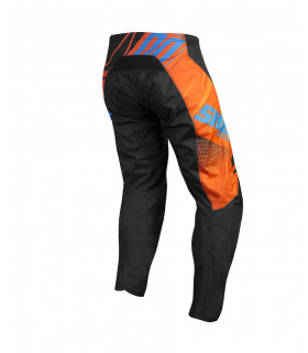 PANTALON KID VENTURY ORANGE CYAN