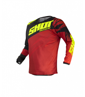 MAILLOT KID VENTURY BLACK RED NEON YELLOW
