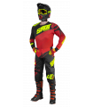 PANTALON KID VENTURY BLACK RED NEON YELLOW