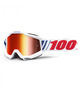 Accuri goggle 100% - AF066 // Mirror red lens