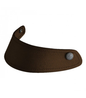 BELFAST Peak visor dark brown